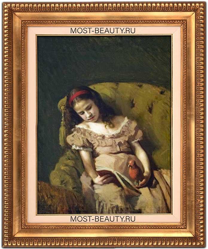 Самые красивые картины Крамского: Книги одолели (1872)