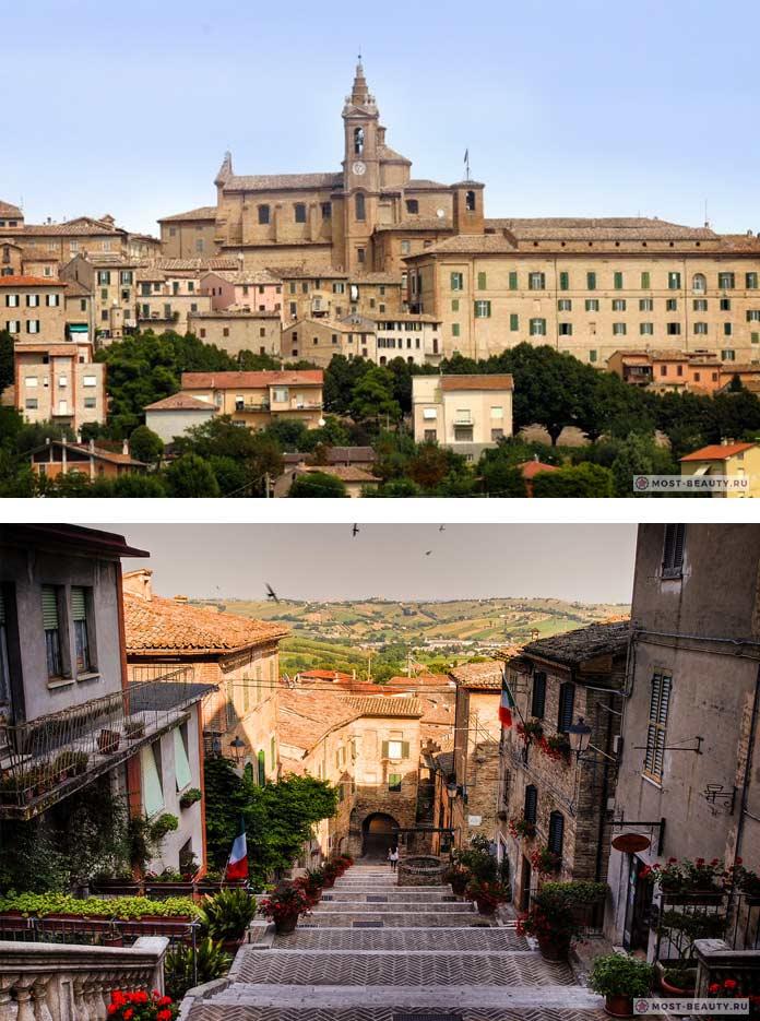 Прекрасные итальянские деревни: Коринальдо