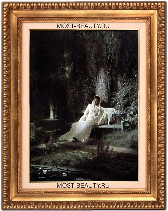 Лучшие картины Крамского: Лунная ночь (1880)