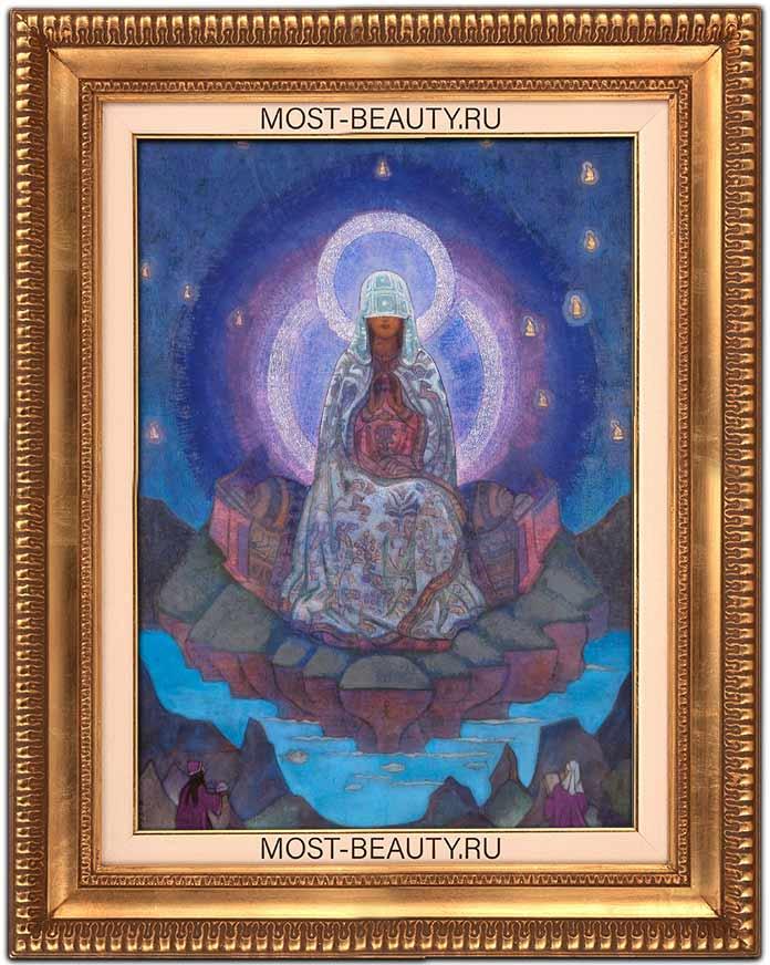 Известные картины Рериха: «Матерь Мира» (1924)