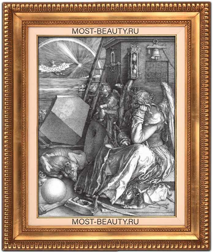 Работы Альбрехта Дюрера: Меланхолия (1514)