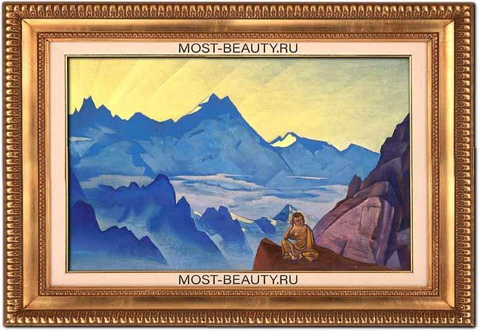 Самые известные картины Рериха: Миларепа услышавший