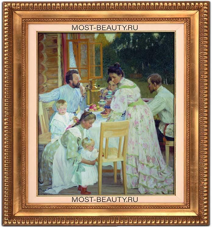 На террасе (1906)