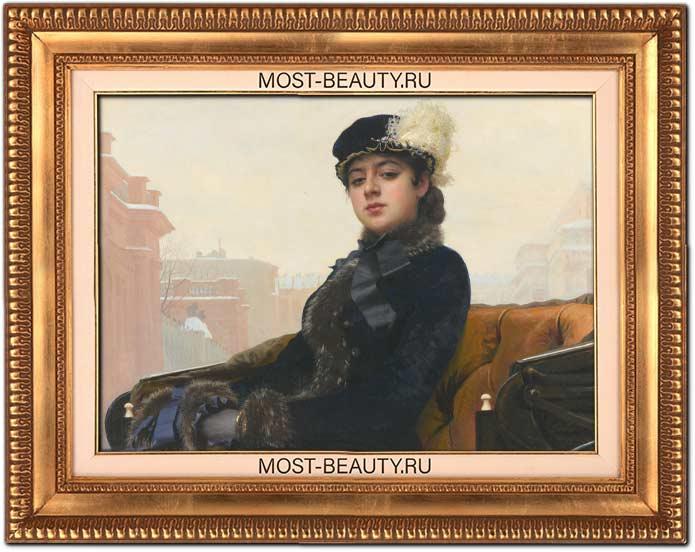 Лучшие картины Крамского: Неизвестная (1883)