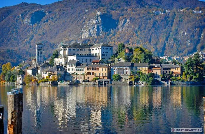 Красвые итальянские деревни: Орта-Сан-Джулио