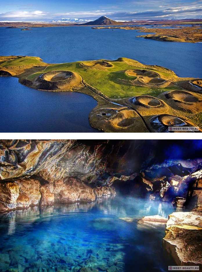 Красивые места съёмок Игр Престолов: Озеро Миватн
