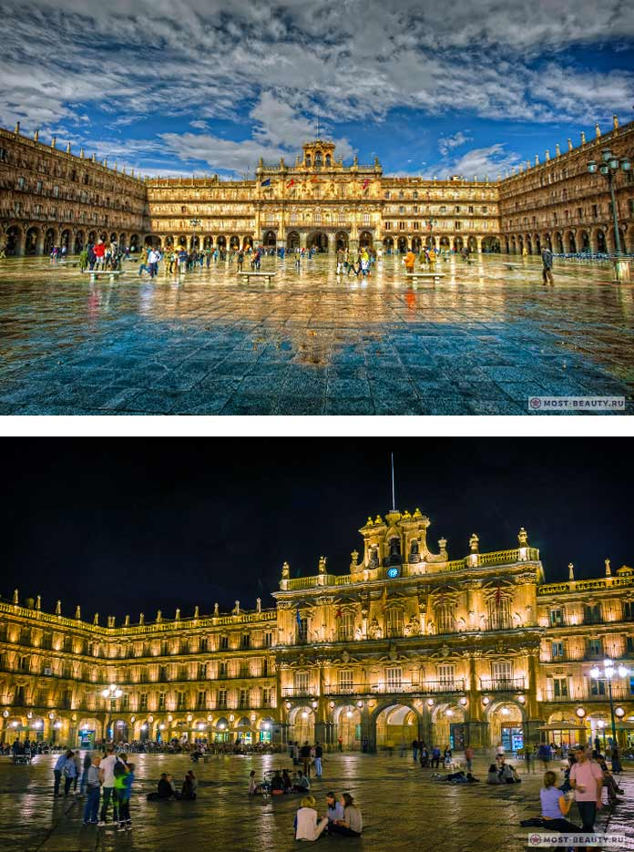 15 самых красивых площадей Европы: Пласа-Майор Саламанка