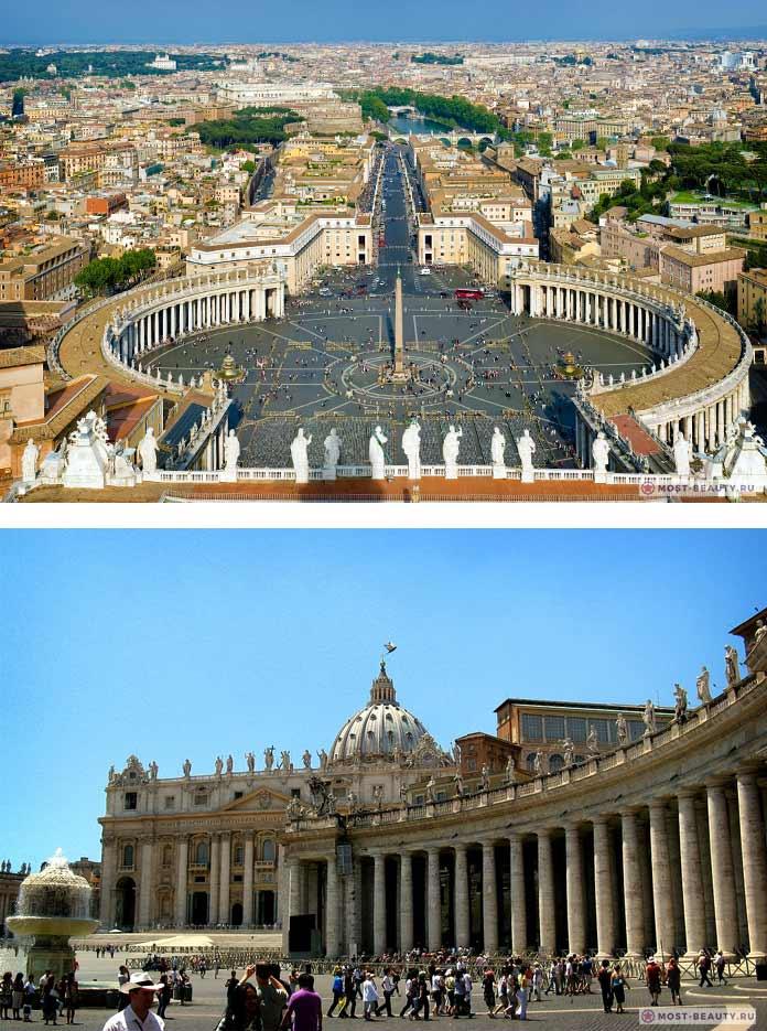 15 самых красивых площадей Европы: Площадь Святого Петра. СС0