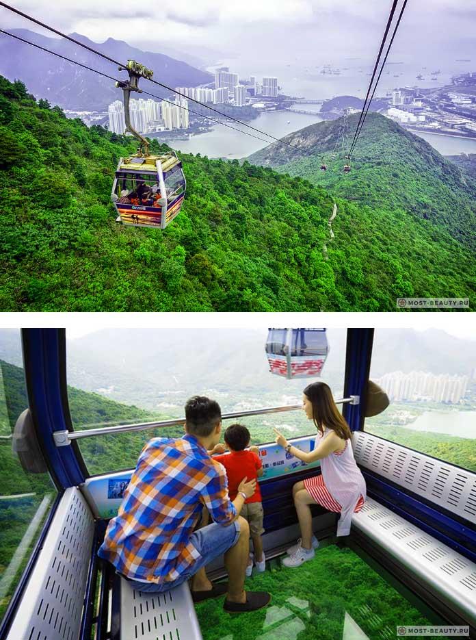 Список канатных дорог: Поездка над Гонконгом