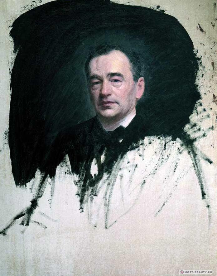 Портрет доктора Карла Андреевича Раухфуса (1887)