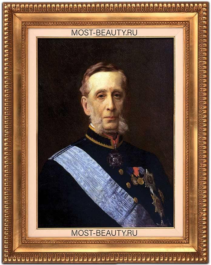 Известные картины Крамского: Портрет графа Петра Александровича Валуева (1880)