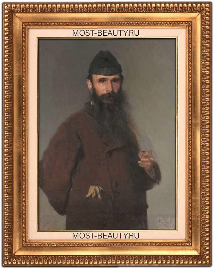 Портрет художника Александра Дмитриевича Литовченко (1878)