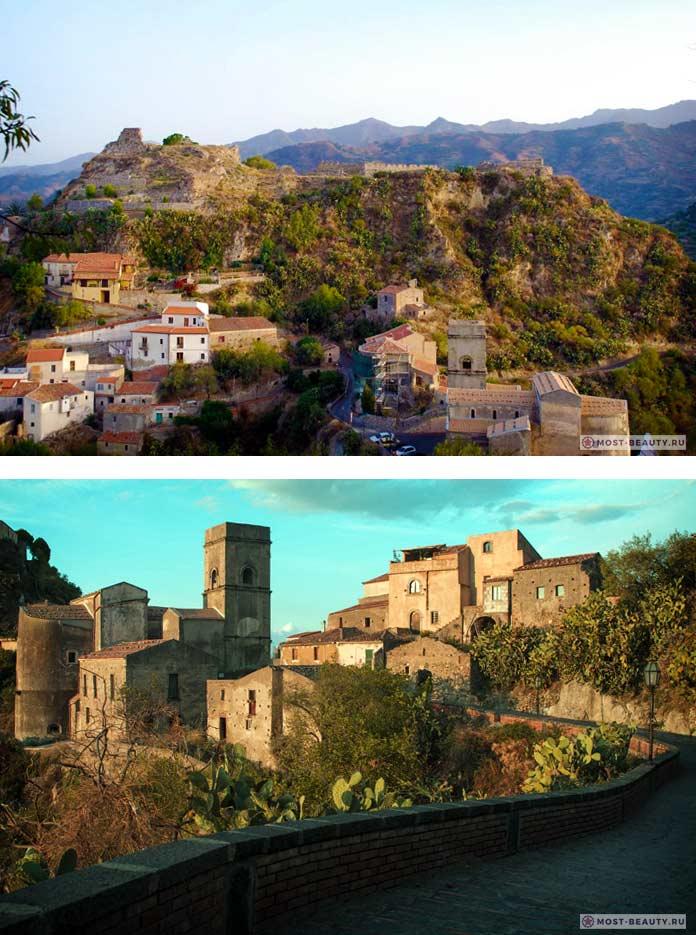 Очаровательные итальянские деревни: Савока, Сицилия