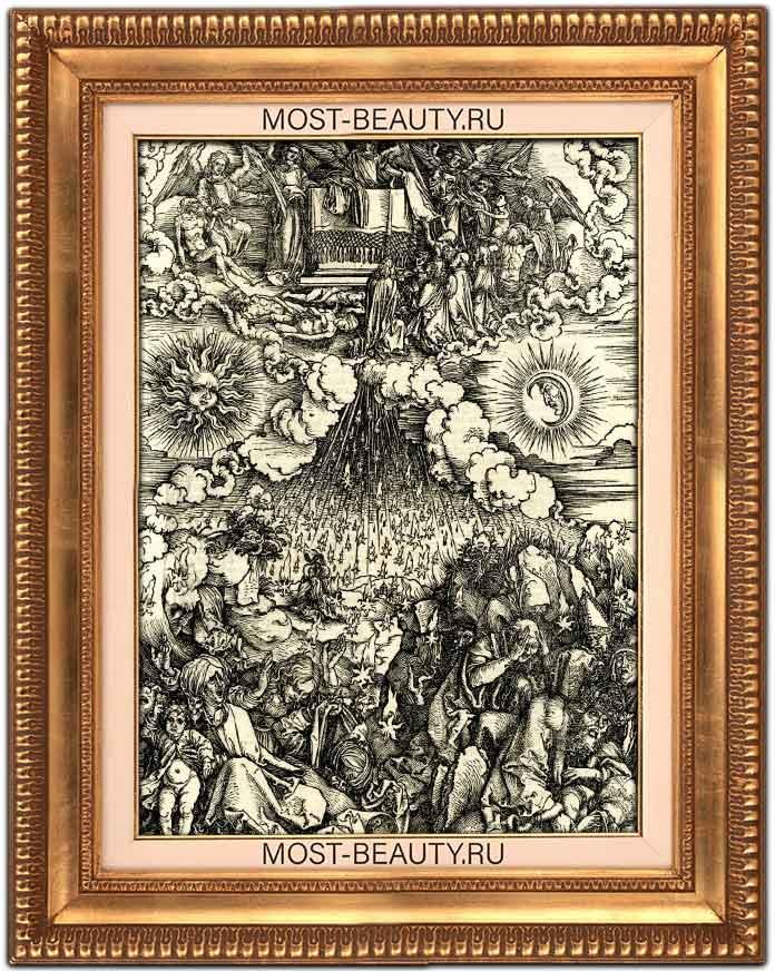 Самые известные работы Альбрехта Дюрера: Снятие пятой и шестой печатей.