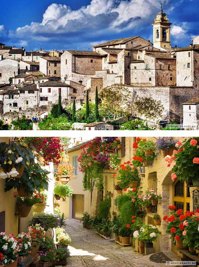 Красивые итальянские деревни: Спелло