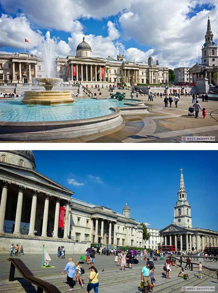 15 самых красивых площадей Европы: Трафальгарская площадь