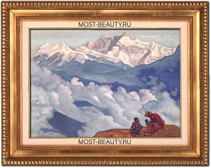 Известные картины Рериха: «Жемчуг исканий» (1924)