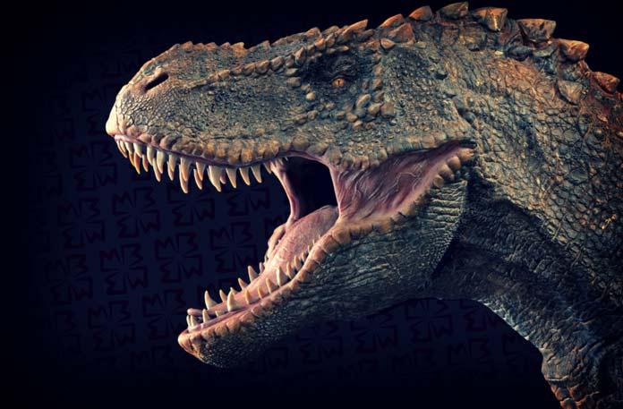 Окаменелости динозавров. CC0