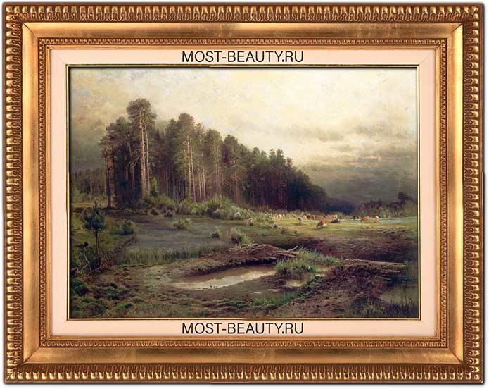 Лосиный остров в Сокольниках (1869)