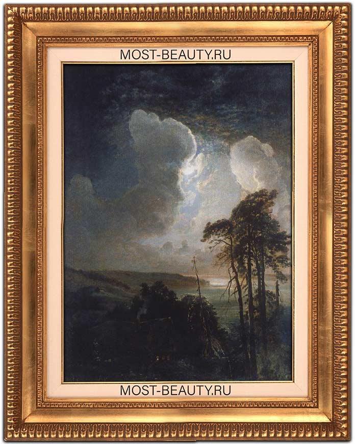 Прекрасные картины Саврасова: Ночь на Воробьёвых горах