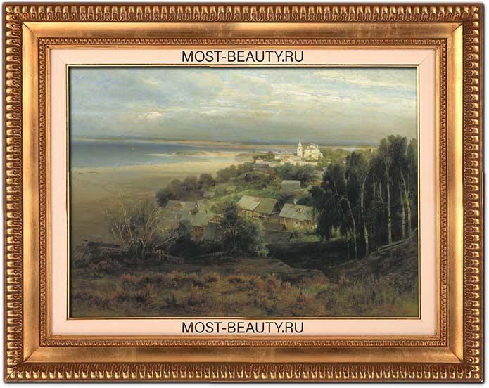 Картины Саврасова: Печерский монастырь близ Нижнего Новгорода