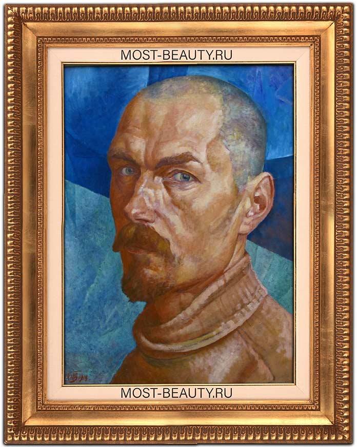 Петров-Водкин, Автопортрет (1918)