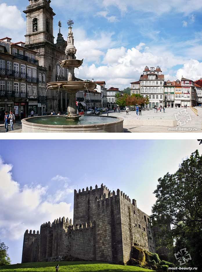 Красивые места Португалии: Гимарайнш. СС0