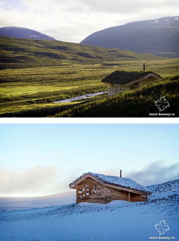 Калардох Шиллинг - красивый домик на скале