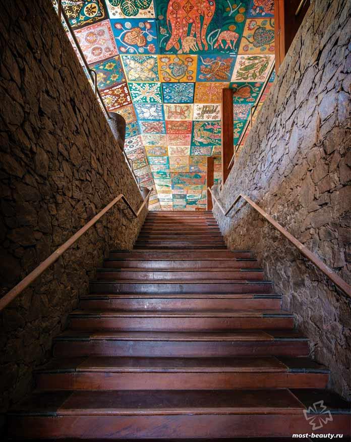 10 лестниц Шри-Ланки от архитектора Джеффри Бавы: Лестница The Beach Hotel