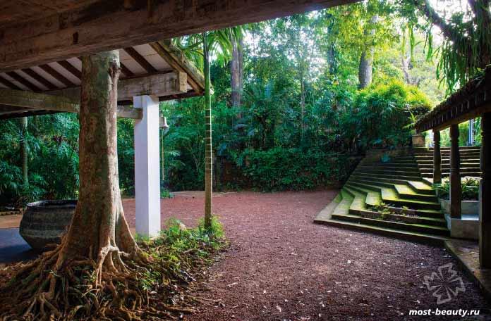 10 лестниц Шри-Ланки: Лестница поместья Лунуганга