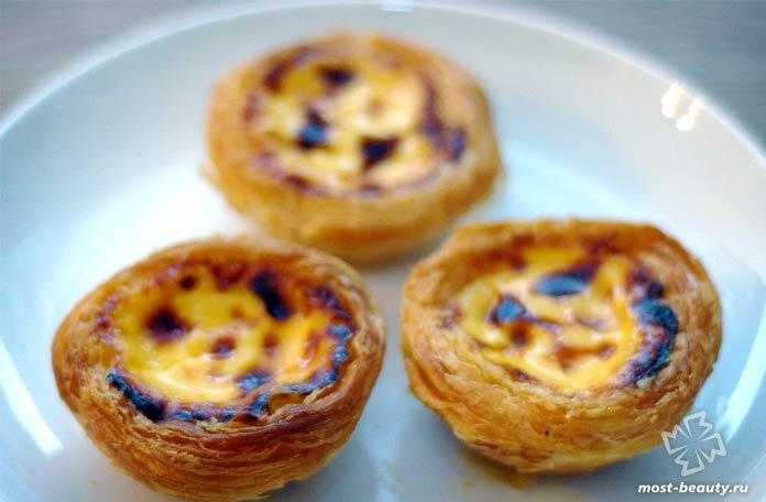 Пастель де Белен - удивительные португальские сладости. СС0