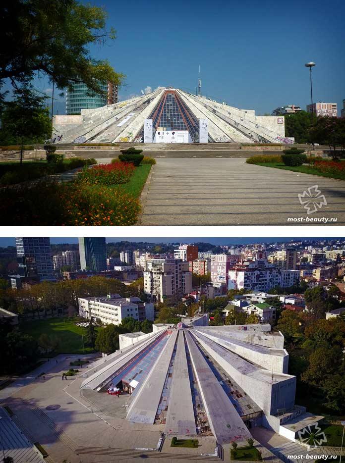 Пирамида Тирана