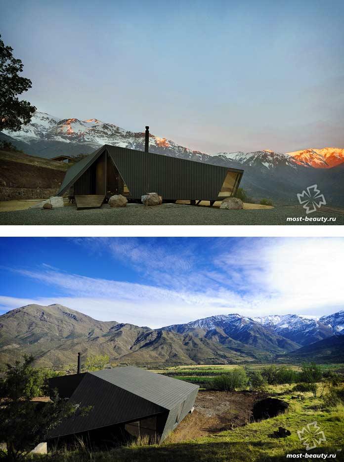 RF C9, Чили - один из самых известных домов на скалах