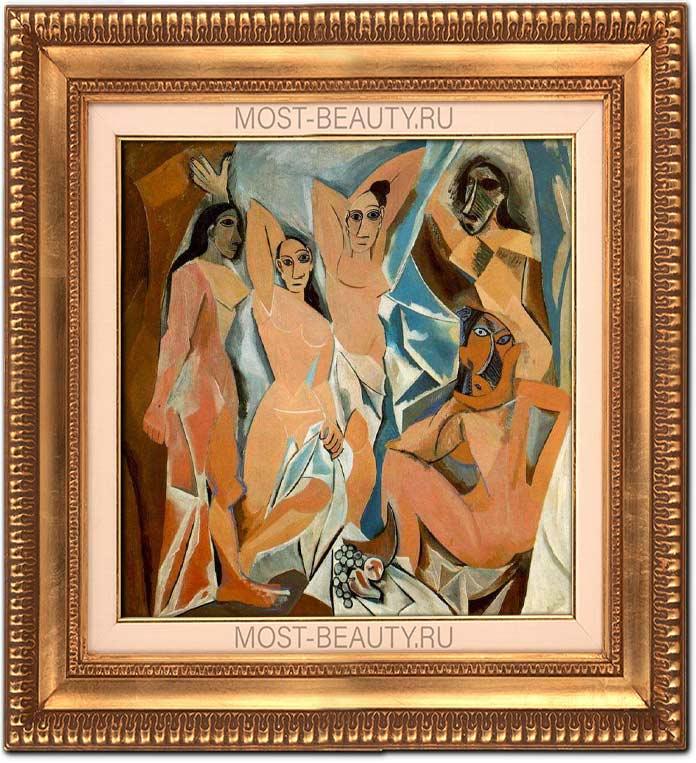 Удивительные работы Пикассо: Авиньонские девицы (1907)