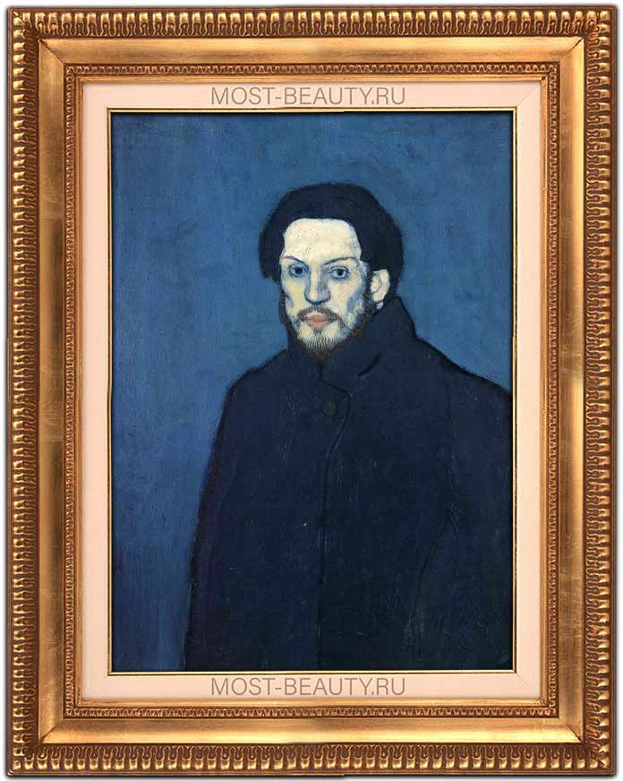 Автопортрет Пабло Пикассо в голубой период (1901)