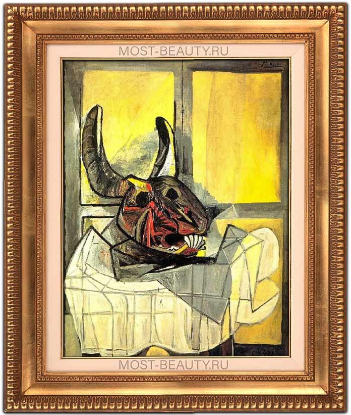 Картина Голова быка (1942) - одна из самых знаменитых работ Пикассо