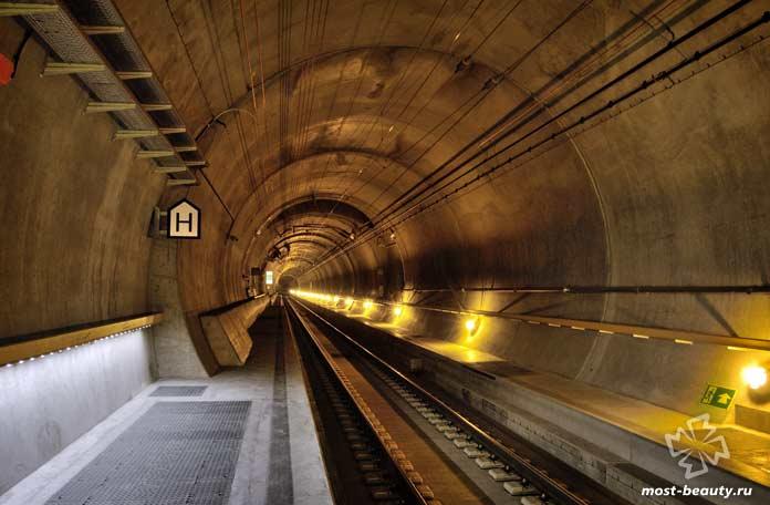 Готардский тоннель. СС0