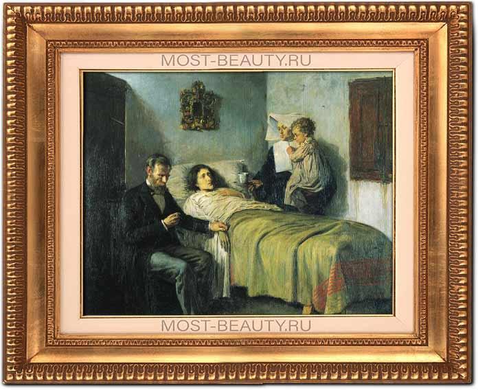 Наука и благотворительность (1897) - одна из первых работ Пабло Пикассо
