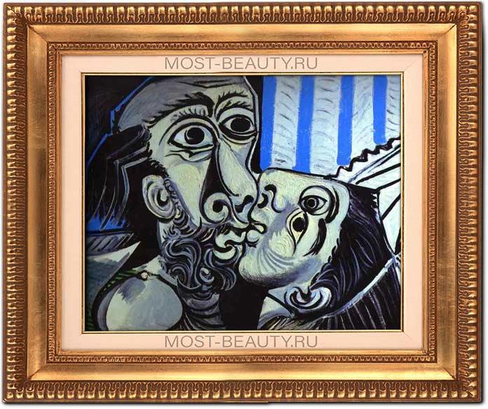 Поцелуй (1969) - одна из самых знаменитых работ Пикассо