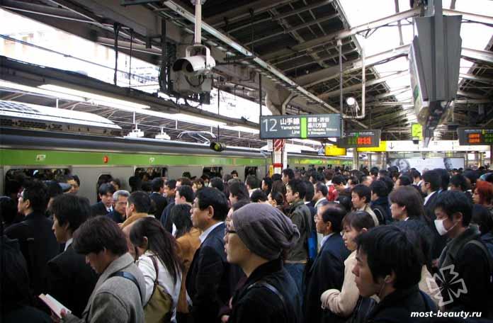 Станция Синдзюку - ад для клаустрофобов