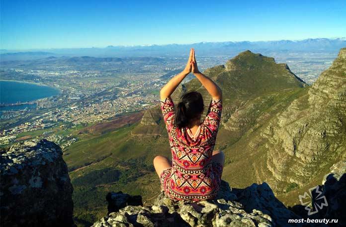 Горы в Кейптаун. СС0