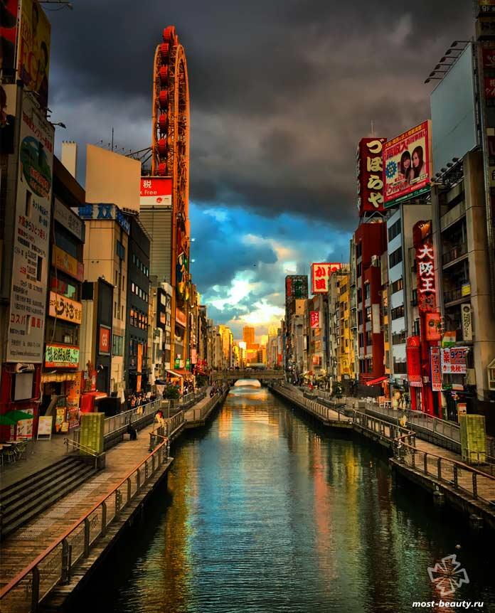 Осака - один из самых недооценённых романтических городов. СС0