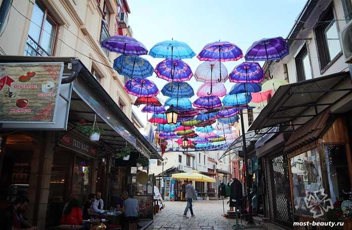 Скопье - одно из удивительных приключений Македонии под открытым небом. СС0