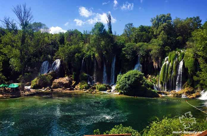 Водопад Кравице. СС0