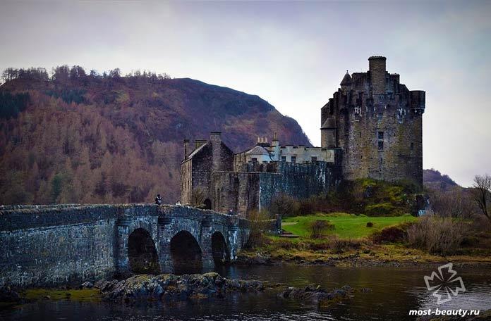 Популярные средневековые замки Шотландии: Замок Данвеган. СС0