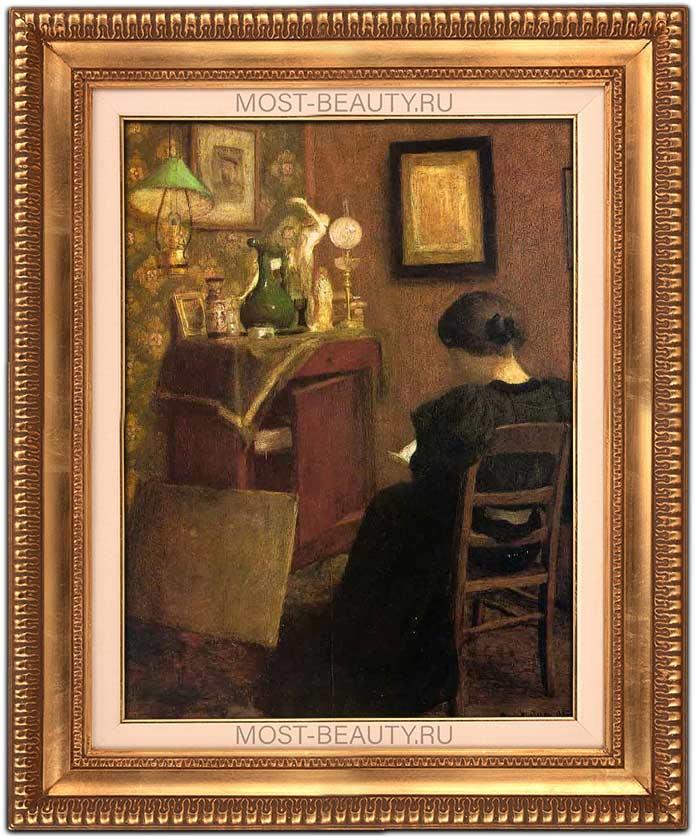 Самые известные картины Анри Матисса: Читающая женщина (1895)