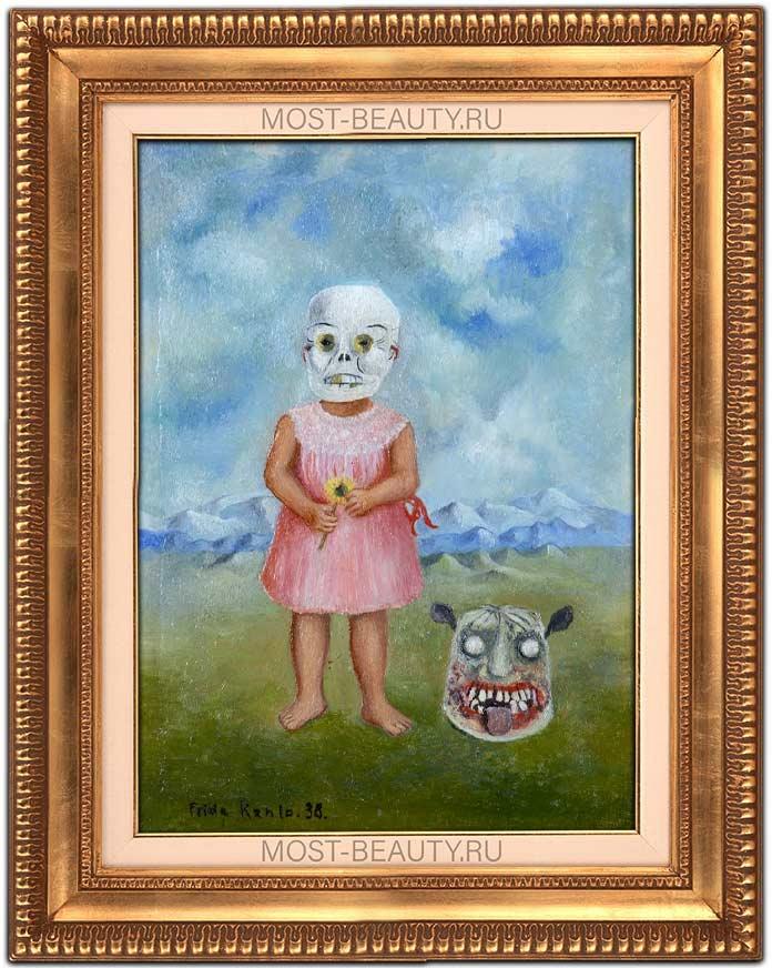 Девочка с маской смерти (1938)