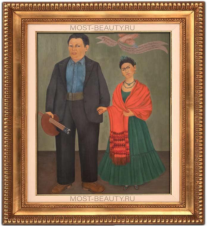 Фрида и Диего Ривера (1931)