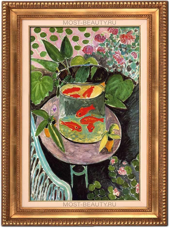 Картины Анри Матисса: Красные рыбки (1911)