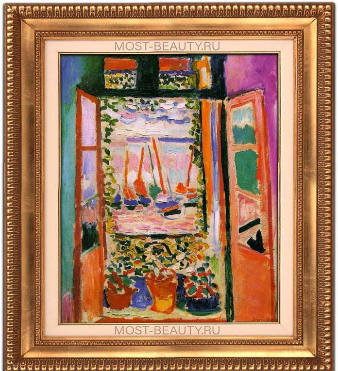 Лучшие картины Анри Матисса: Открытое окно в Коллиуре (1905)